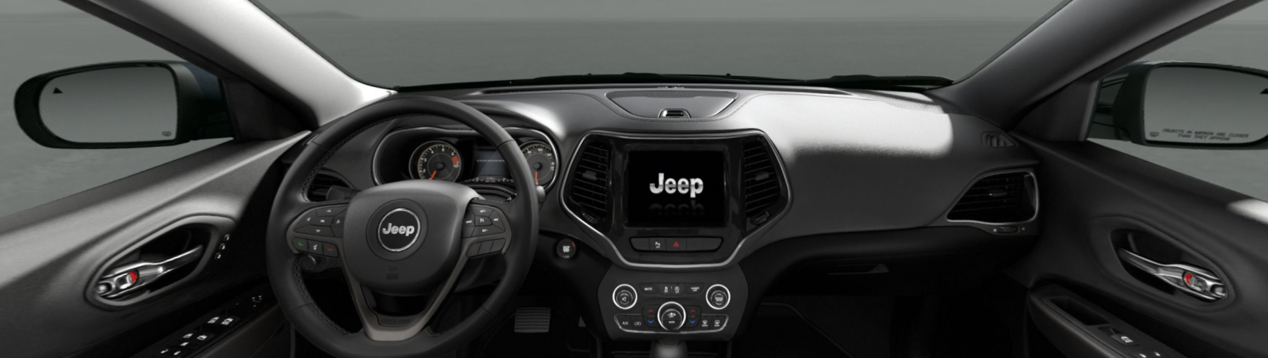 2020 Jeep Cherokee Limited Front Interior Dash Picture