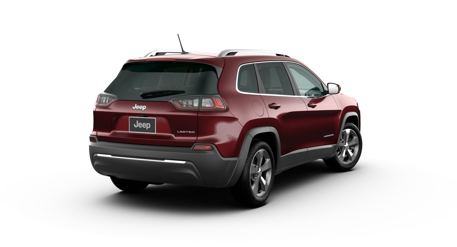 2020 Jeep Cherokee Limited Rear View Exterior Red Picture