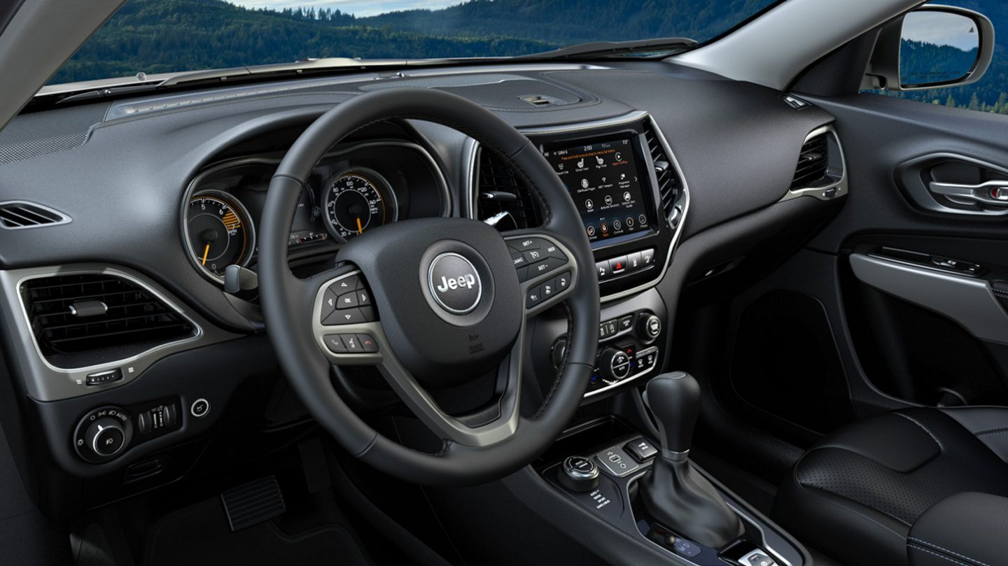 2020 Jeep Cherokee Front View Interior Dash