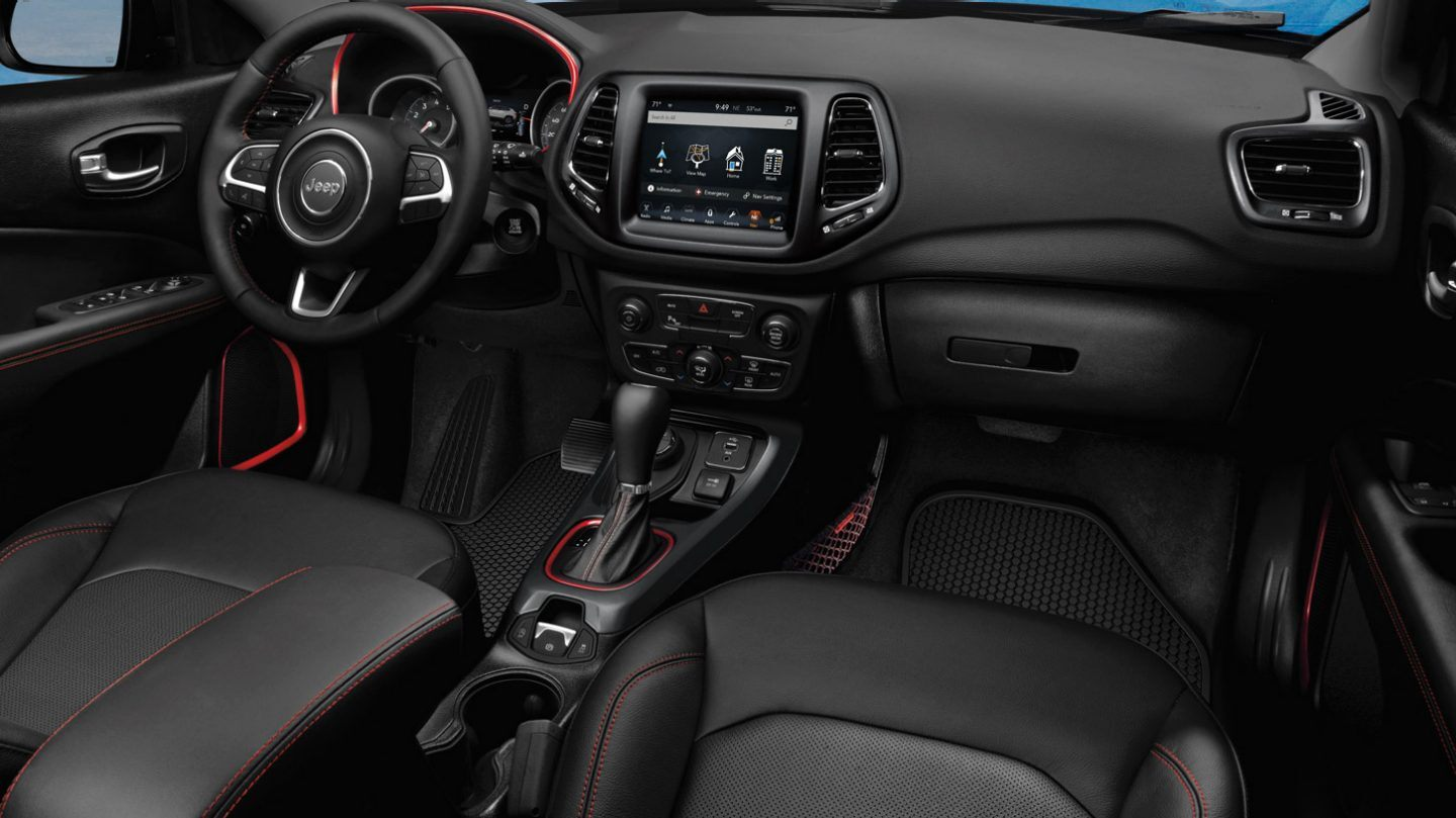 2020 Jeep Compass Front View Dash Interior
