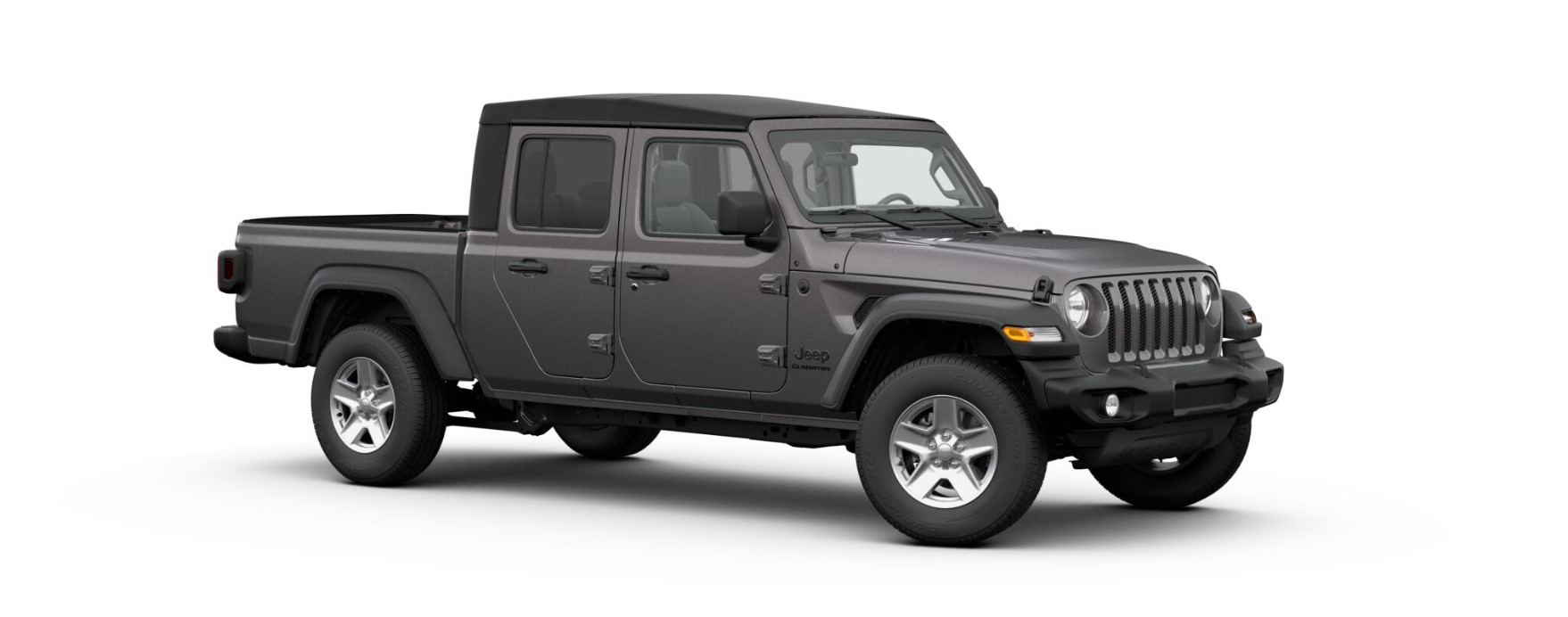 2020 Jeep Gladiator Sport S Front Gray Exterior