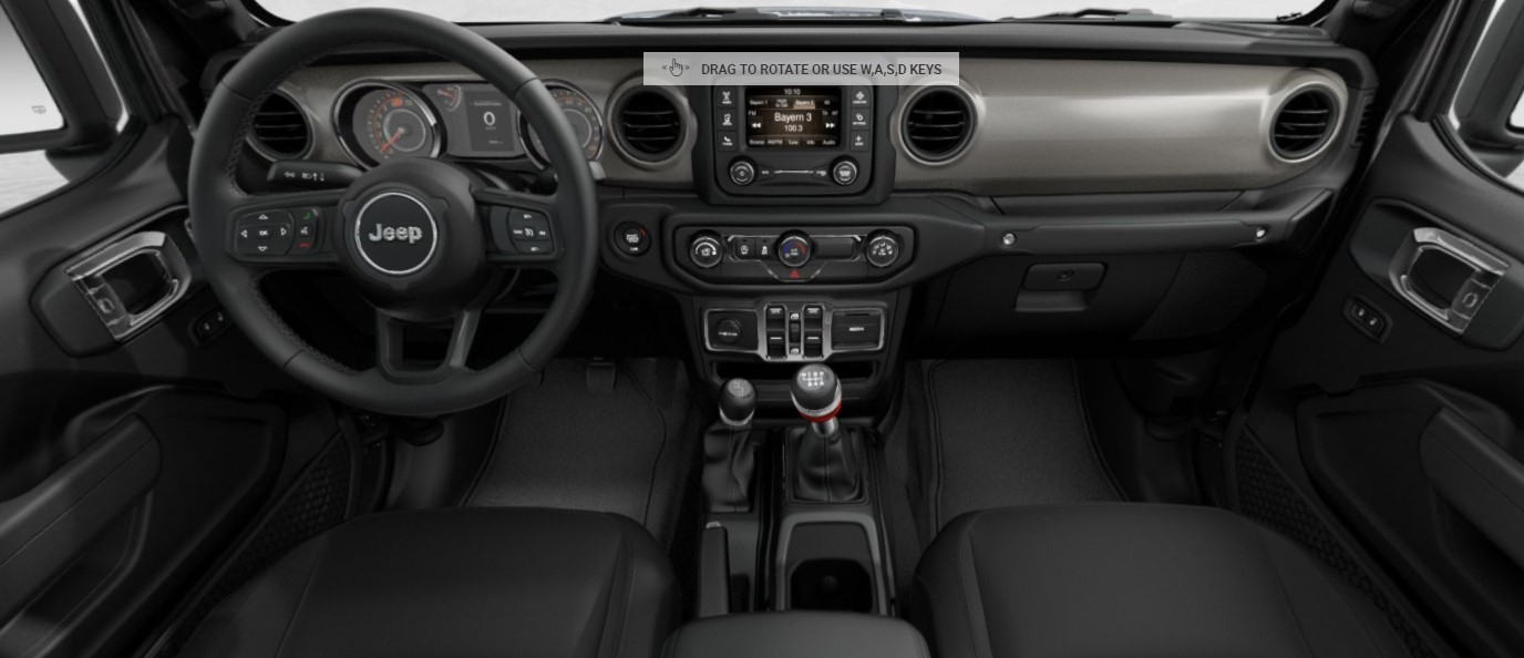 2020 Jeep Gladiator Sport S Interior