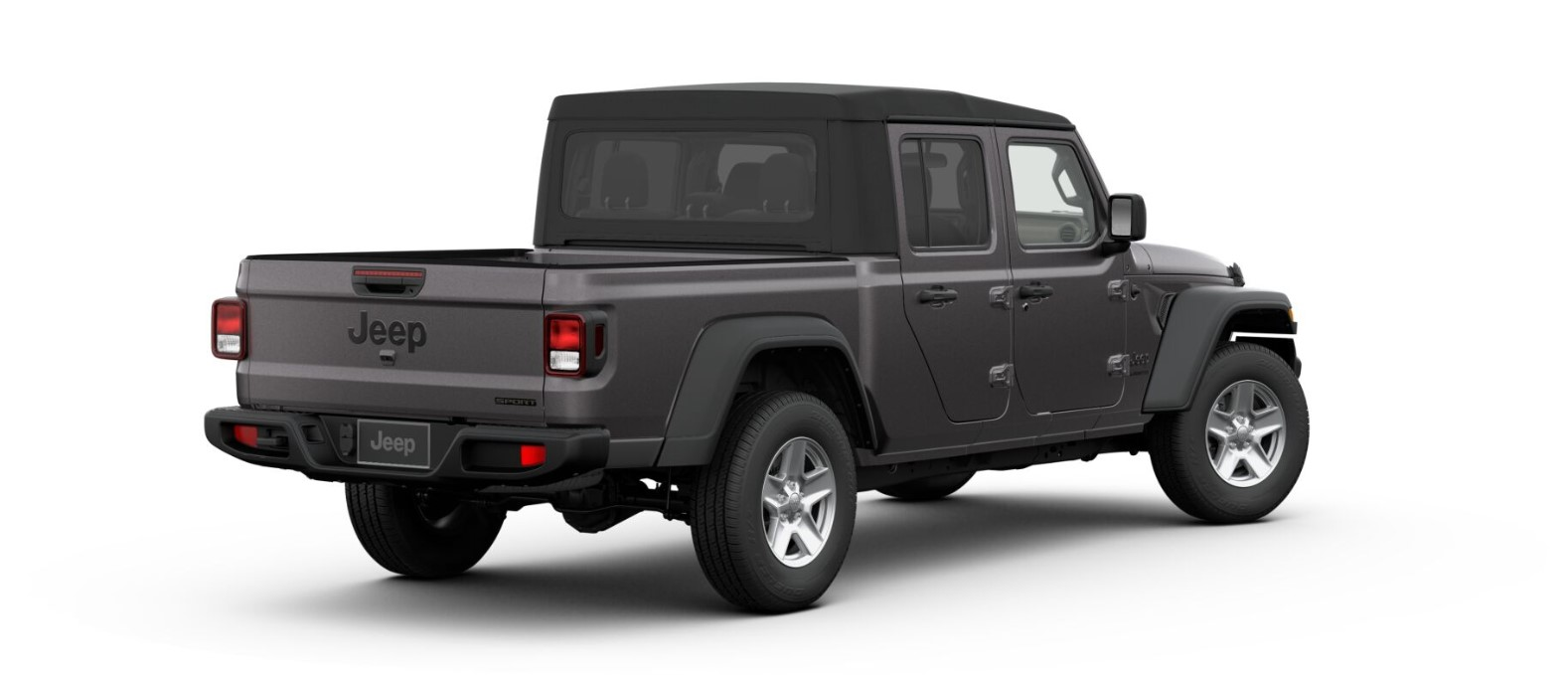 2020 Jeep Gladiator Sport S Rear Gray Exterior