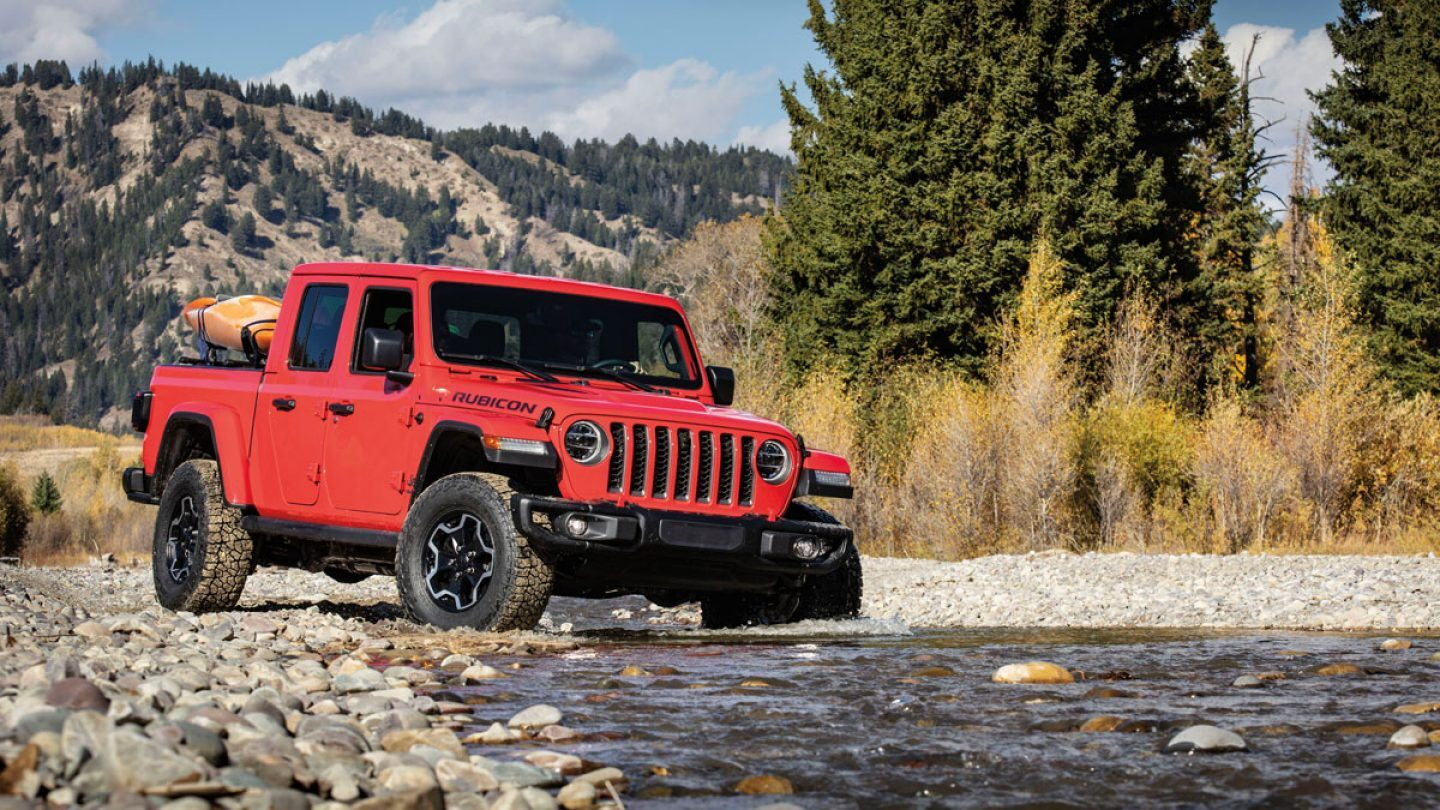 2020 Jeep Gladiator Red Fording Exterior
