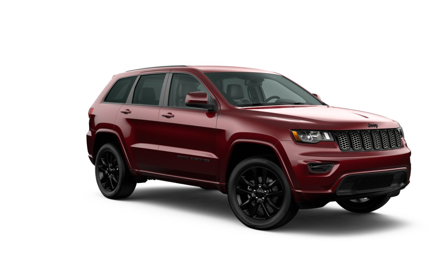 2020 Jeep Grand Cherokee Altitude Front View Red Exterior Picture