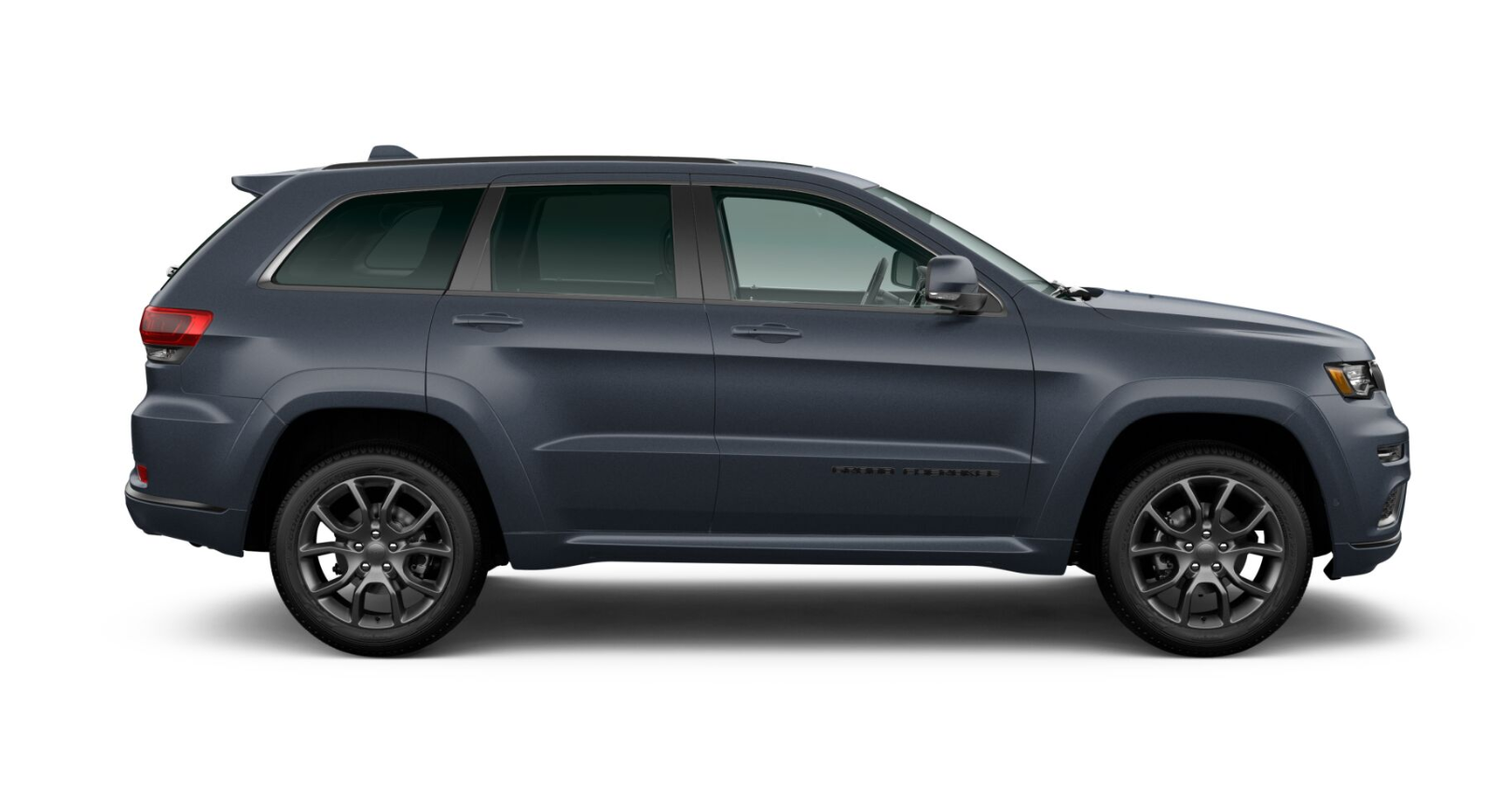 2020 Jeep Grand Cherokee High Altitude Side View Blue Exterior Picture