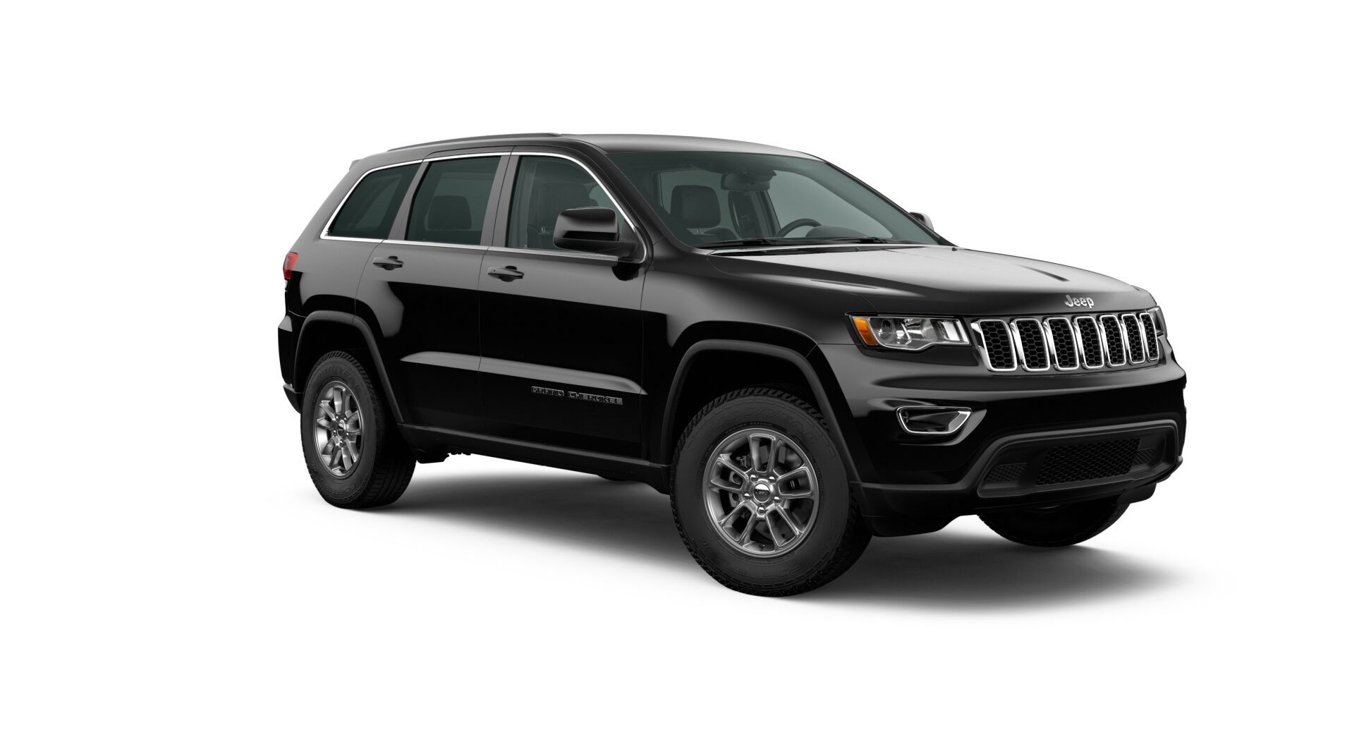 2020 Jeep Grand Cherokee Laredo Front Black Exterior Picture