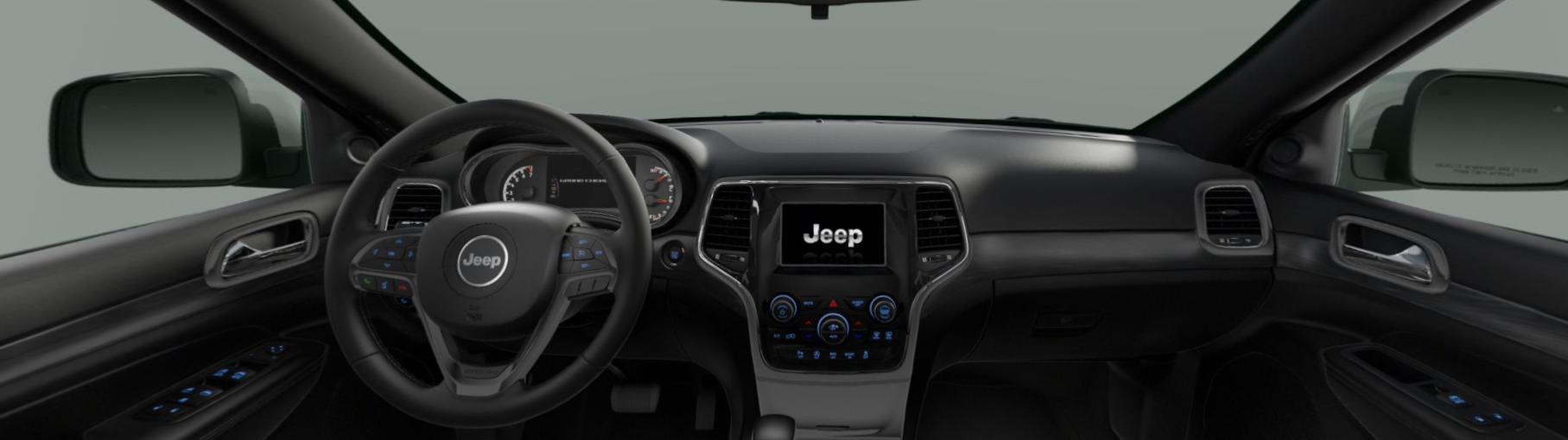 2020 Jeep Grand Cherokee Laredo Front Interior Dash Picture