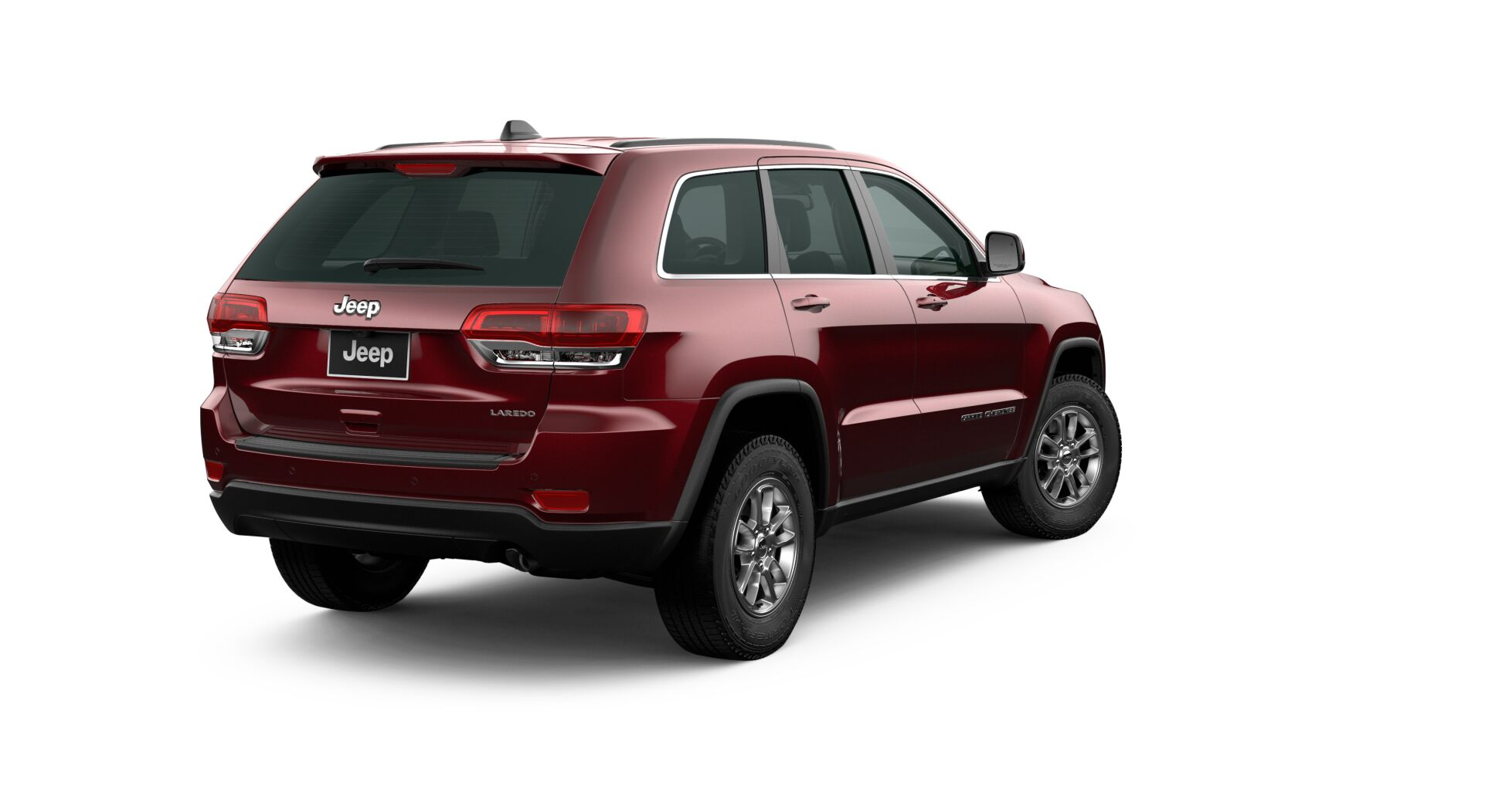 2020 Jeep Grand Cherokee Laredo Rear View Red Exterior Picture