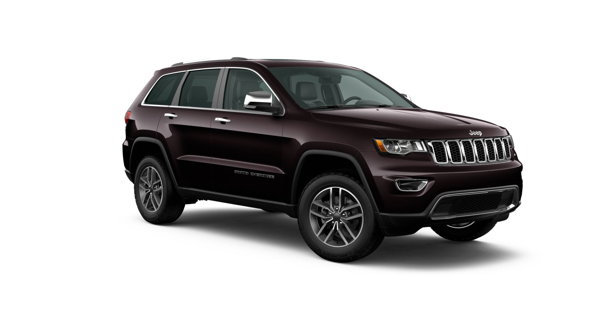 2020 Jeep Grand Cherokee Limited Front View Exterior Black Picture