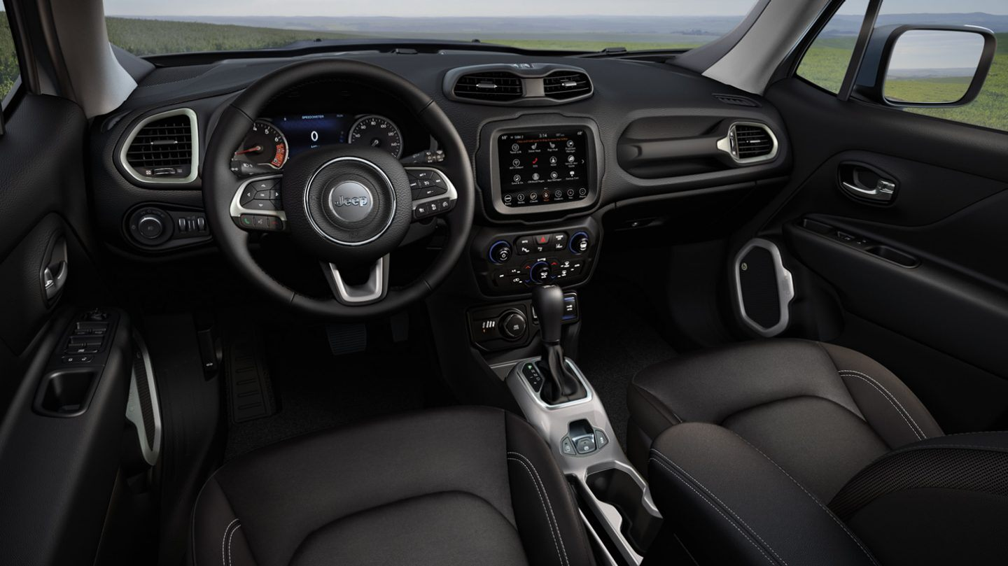 2020 Jeep Renegade Front Interior Dash Picture