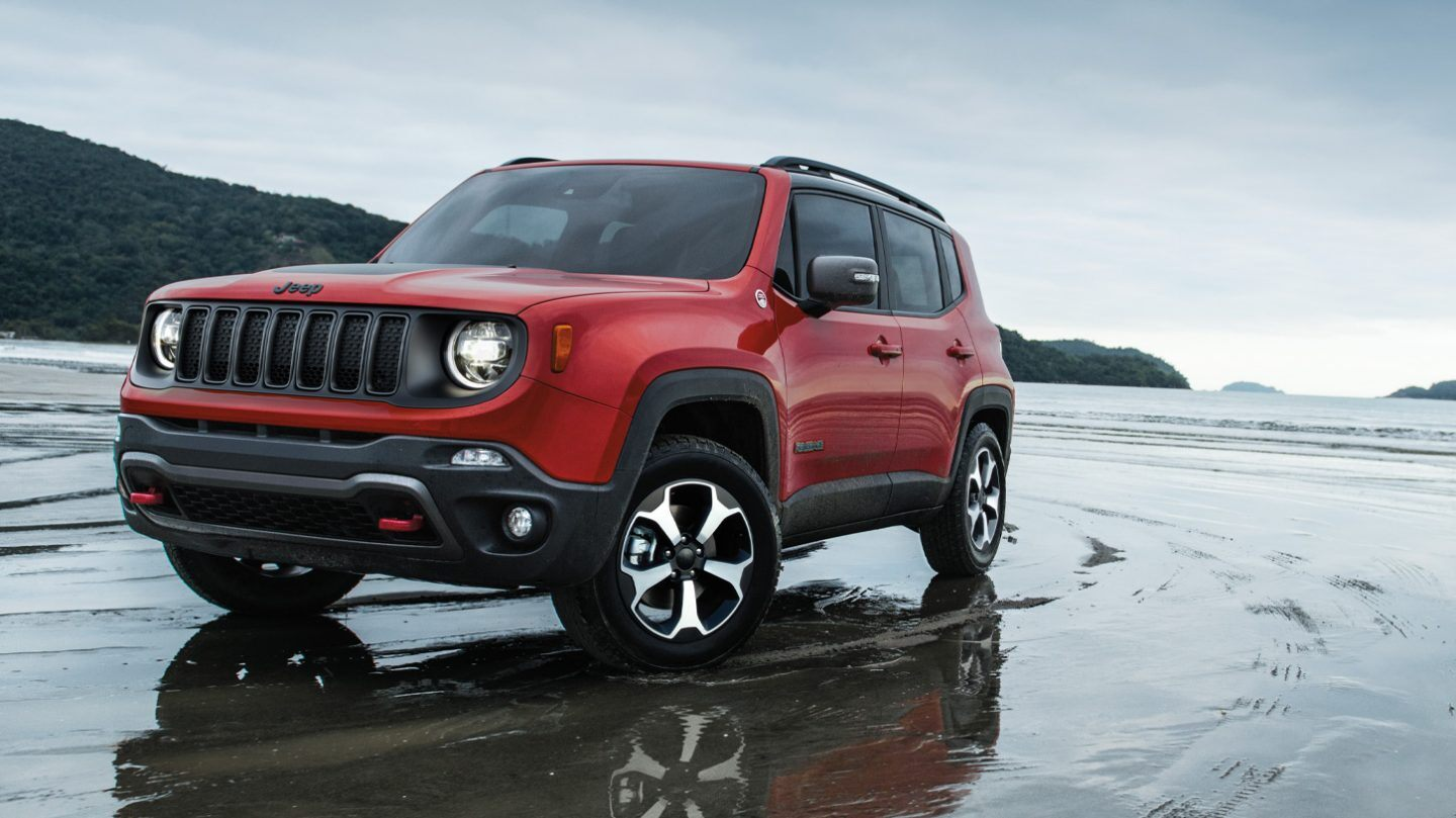 2020 Jeep Renegade Front Red Exterior