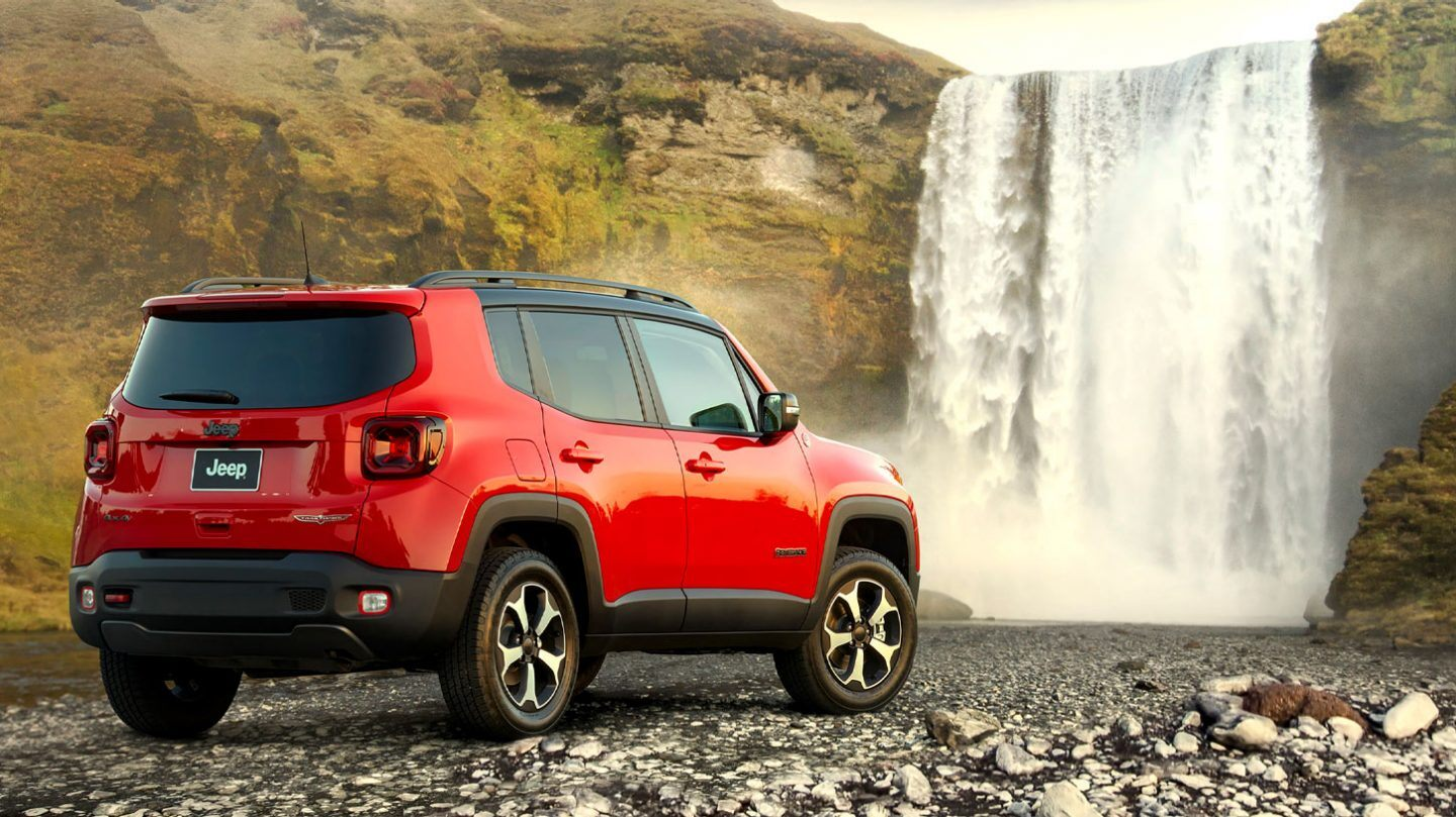 2020 Jeep Renegade Rear Red Exterior Picture