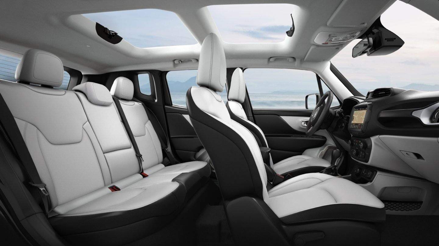 2020 Jeep Renegade Side View Interior Seating Picture