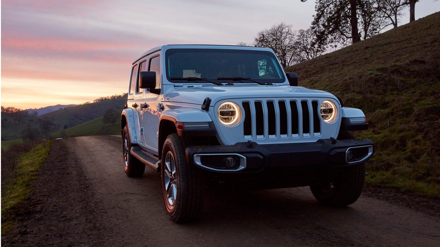 2020 Jeep Wrangler Unlimited Front Exterior Blue Picture