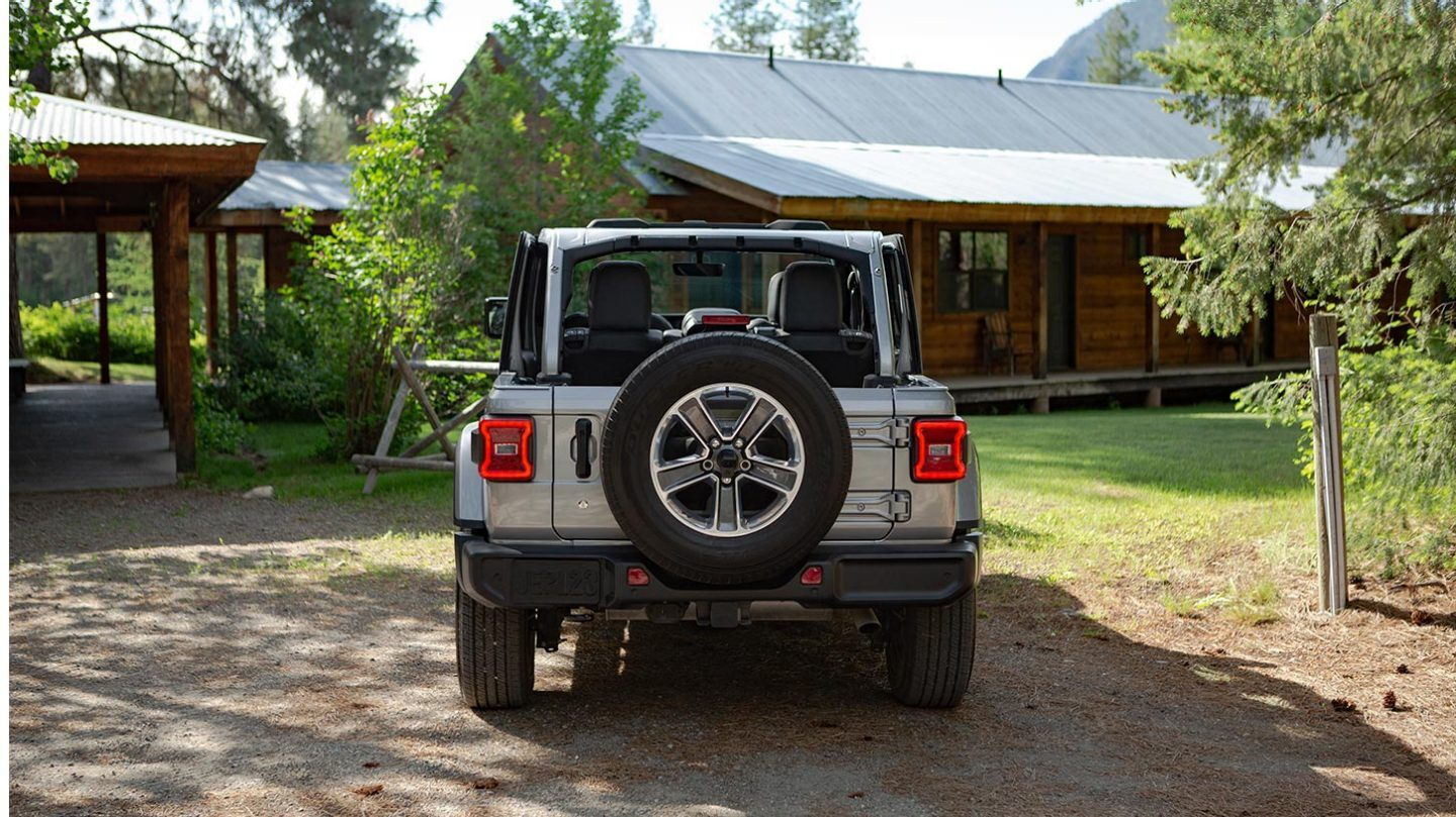 2020 Jeep Wrangler Unlimited Rear Exterior Gray Picture