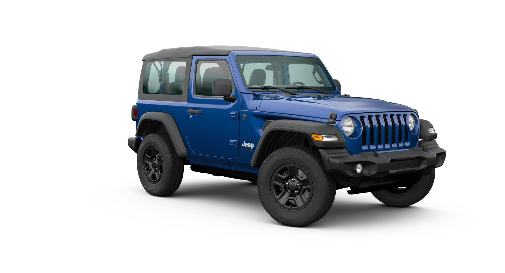 2020 Jeep Wrangler Front Exterior Blue Picture