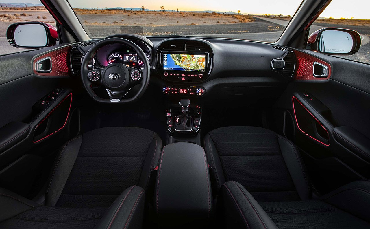 2020 Kia Soul Front Interior Dashboard