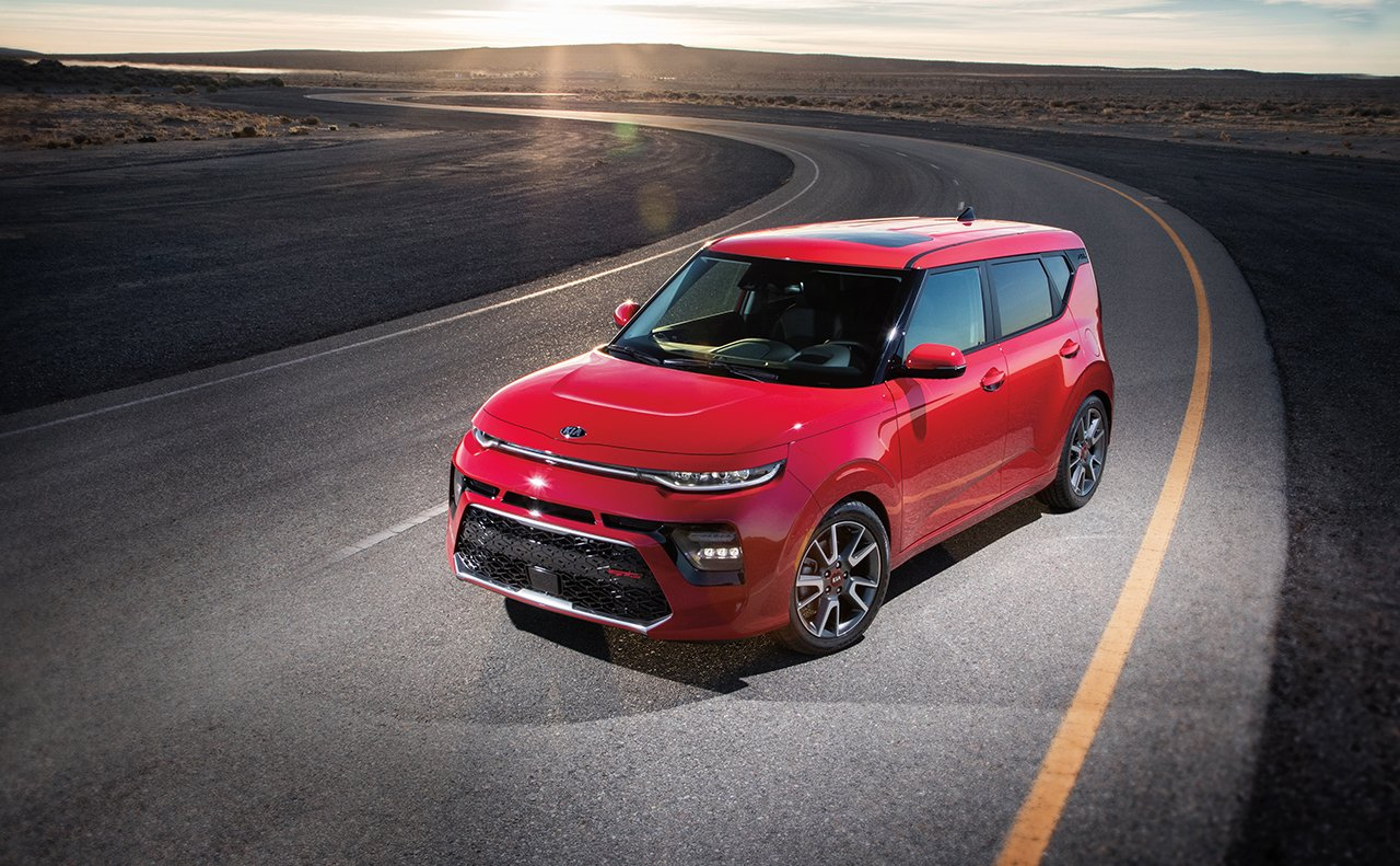 2020 Kia Soul Red Exterior Front View
