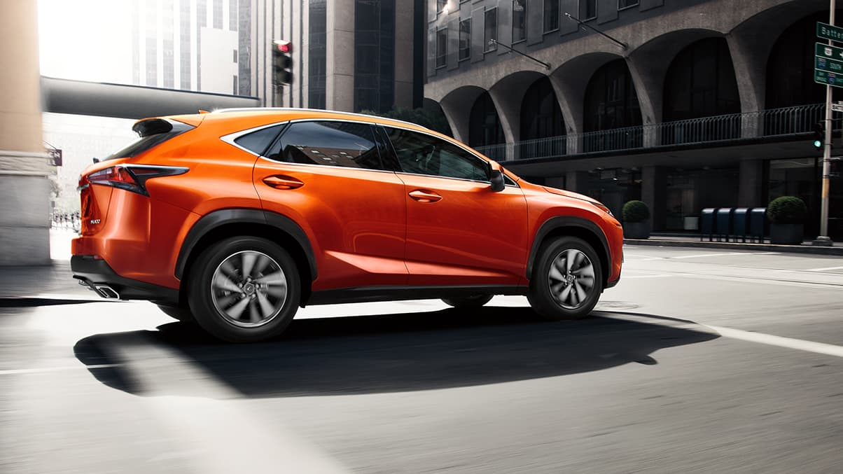 2020 Lexus NX 300 Side View Exterior Orange Picture