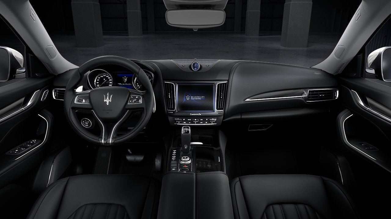 2020 Maserati Levante S Rear Seating Interior Picture.jfif
