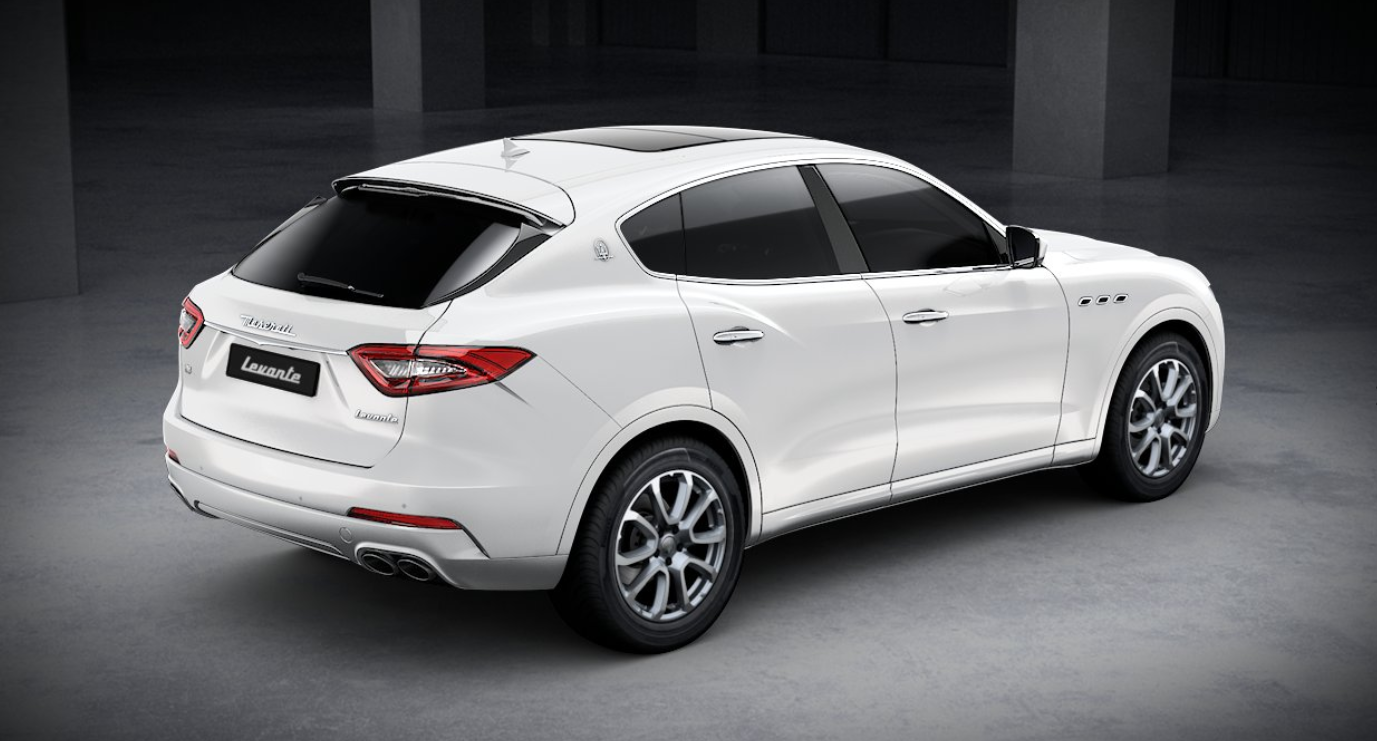 2020 Maserati Levante Rear View White Exterior Picture.png