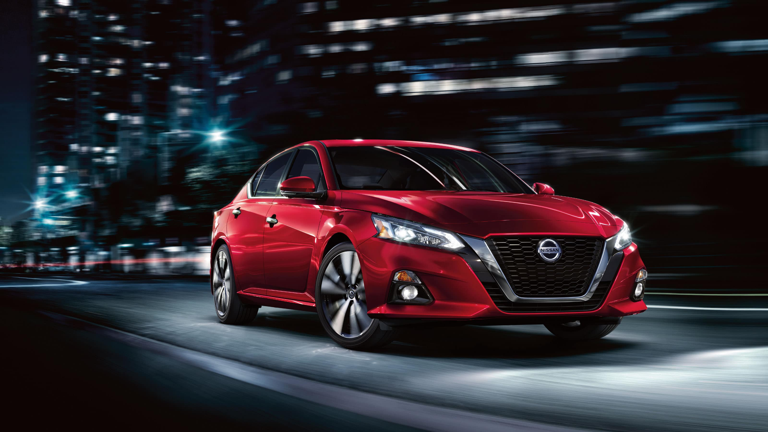 2020 Nissan Altima Front Red Exterior