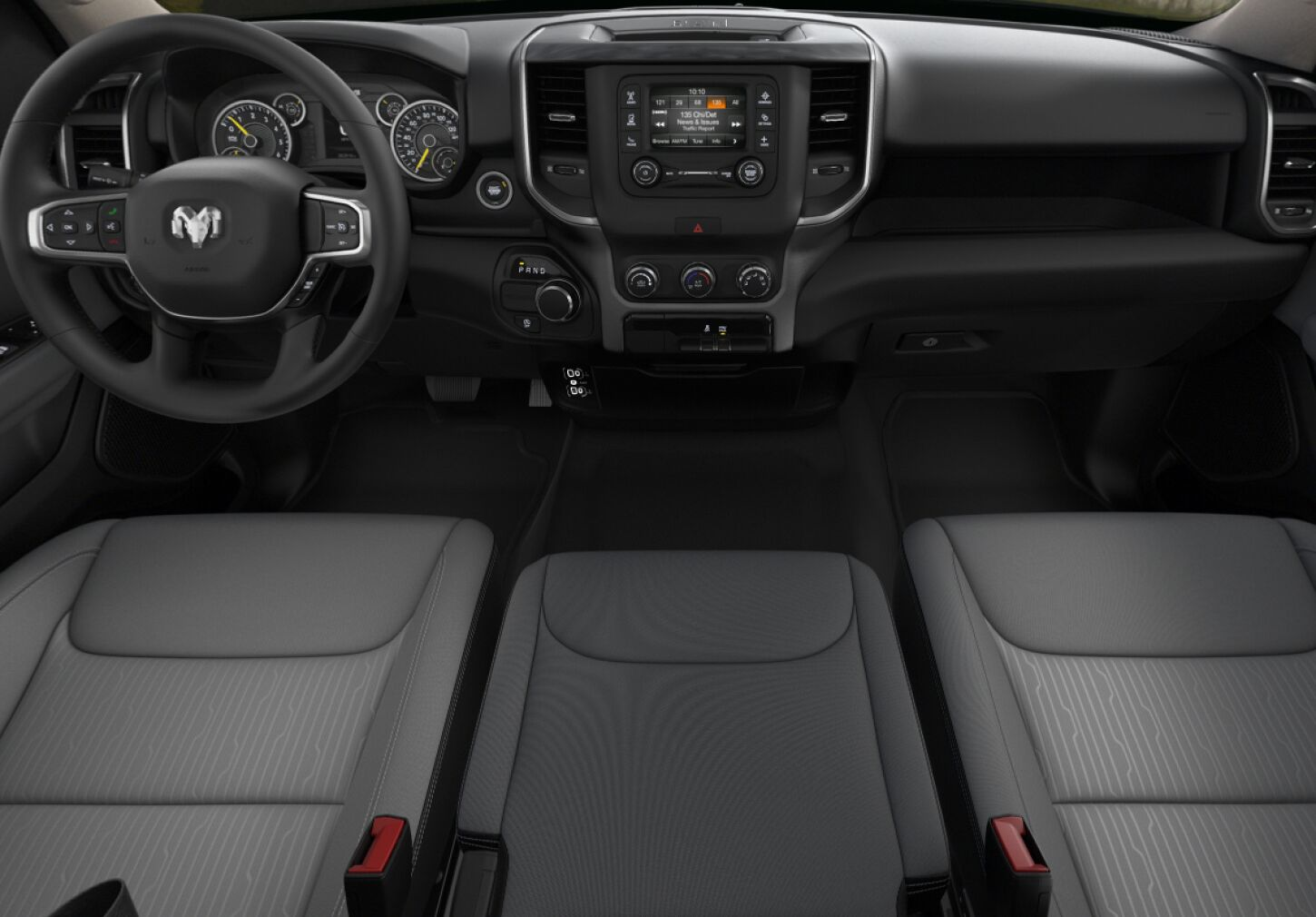2020 Ram 1500 Big Horn Front Interior Dash Picture