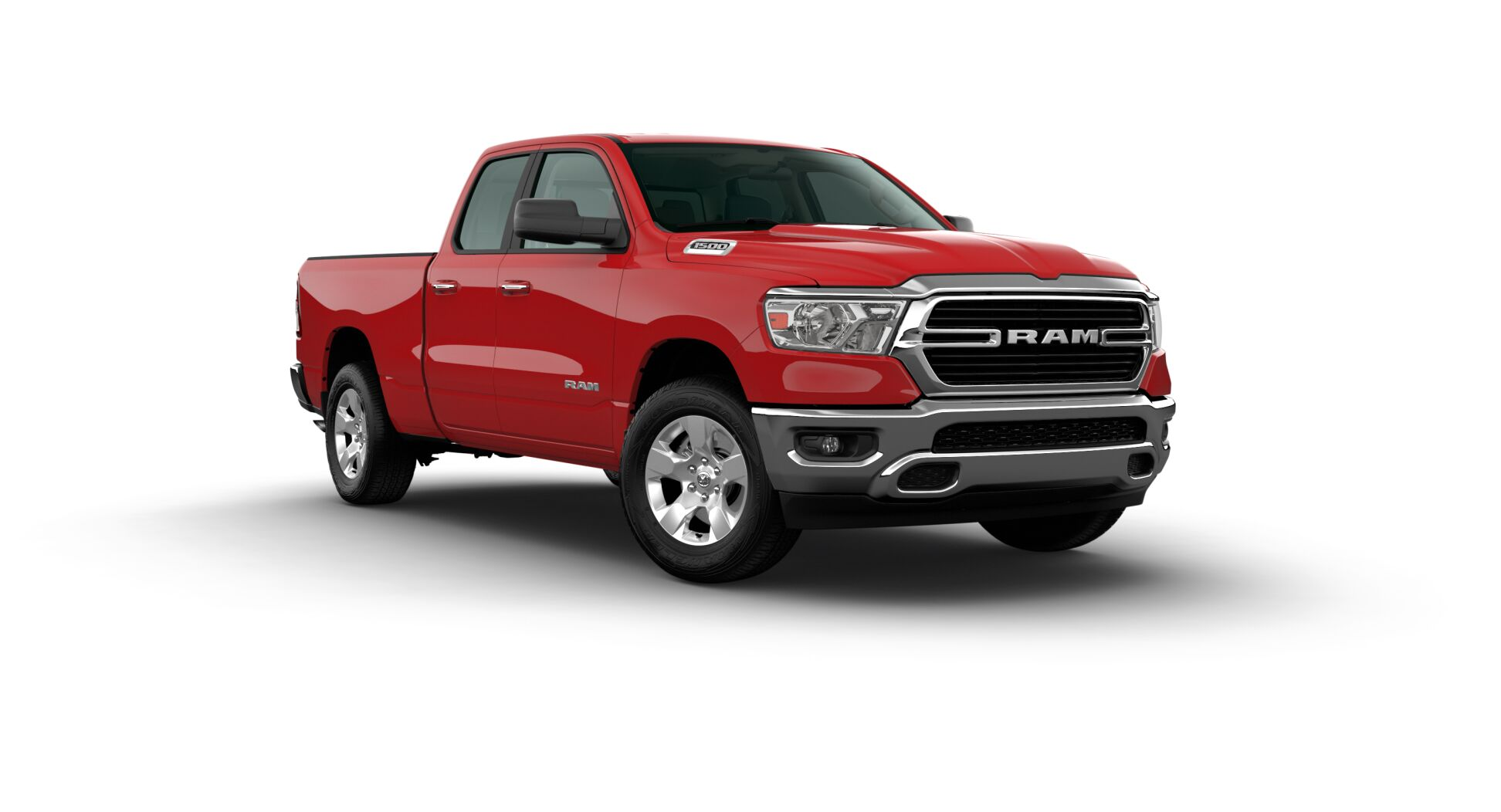 2020 Ram 1500 Big Horn Front Red Exterior Picture