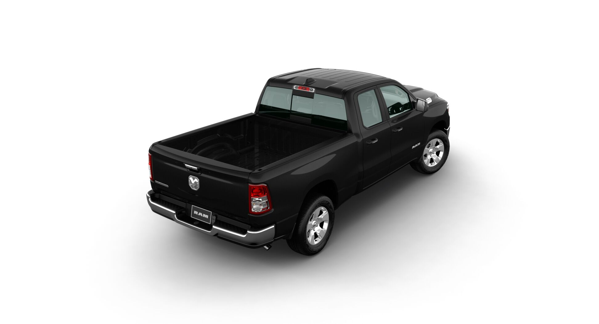 2020 Ram 1500 Big Horn Rear Black Exterior Picture