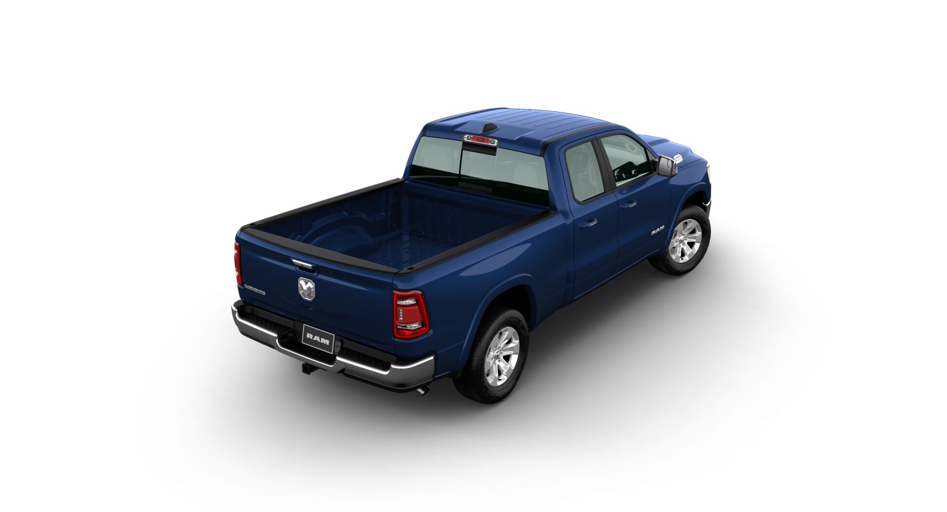 2020 Ram 1500 Laramie Rear Blue Exterior Picture