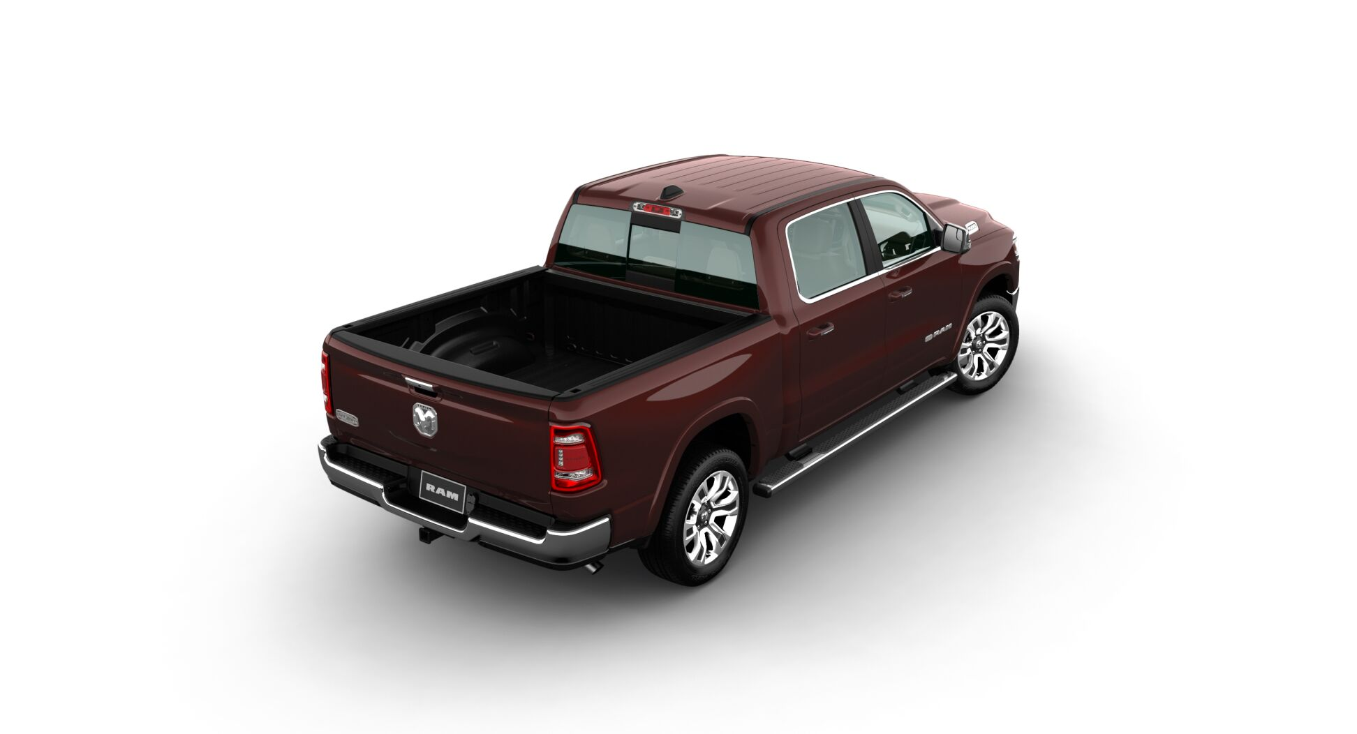 2020 Ram 1500 Longhorn Rear View Red Exterior Picture
