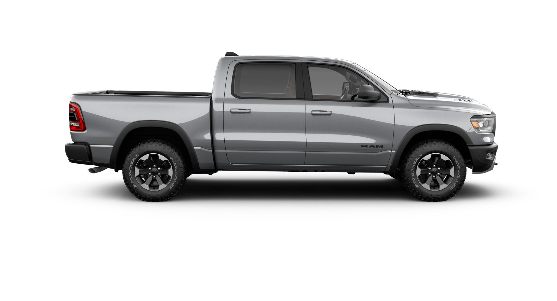2020 Ram 1500 Rebel Side Exterior Silver Picture