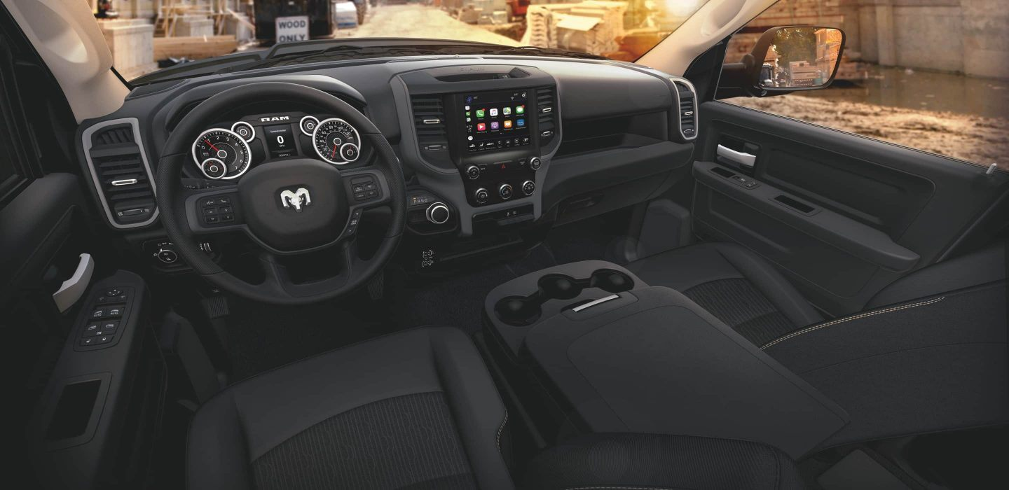 2020 Ram 2500 Front View Interior Dash Picture