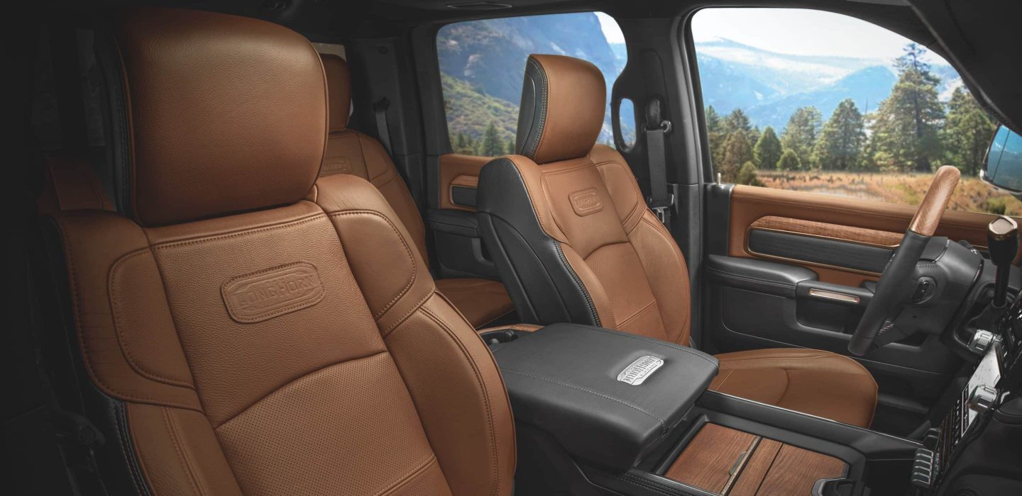 2020 Ram 2500 Front View Seating Interior Picture
