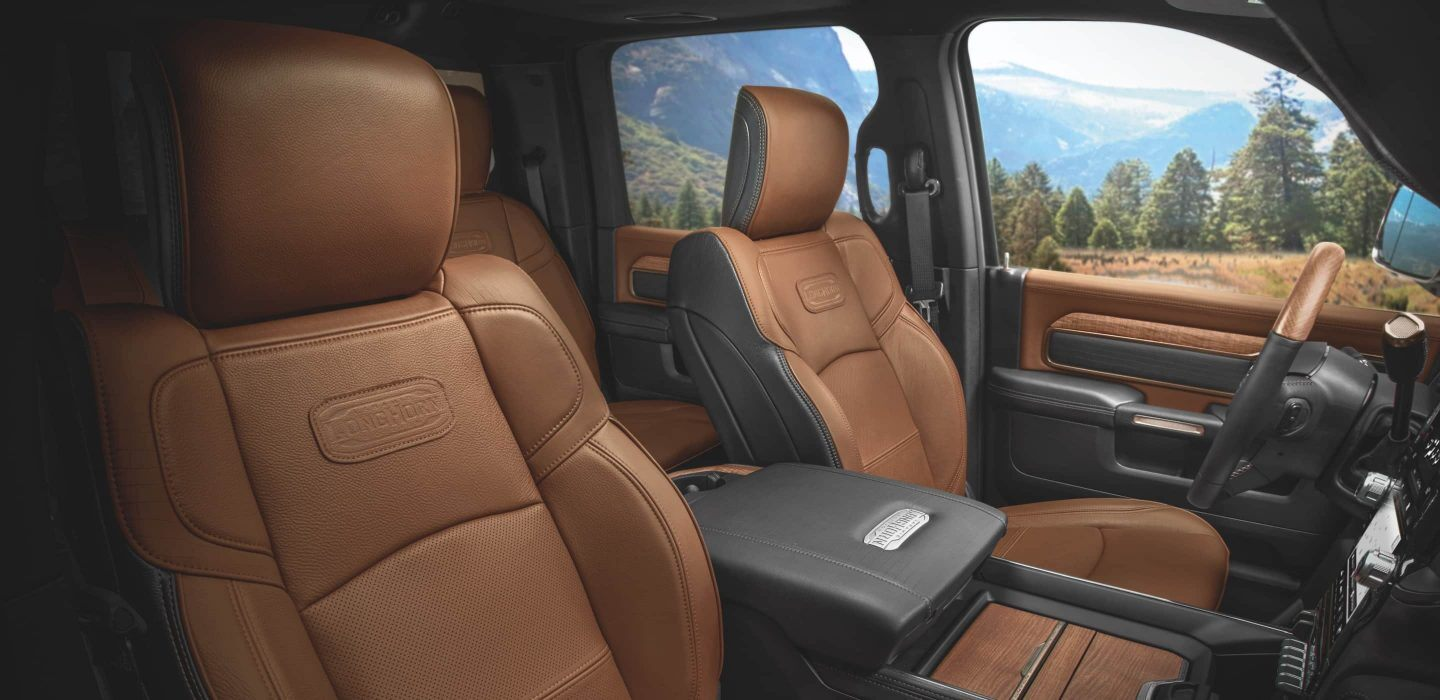 2020 Ram 3500 Front View Interior Seating Picture