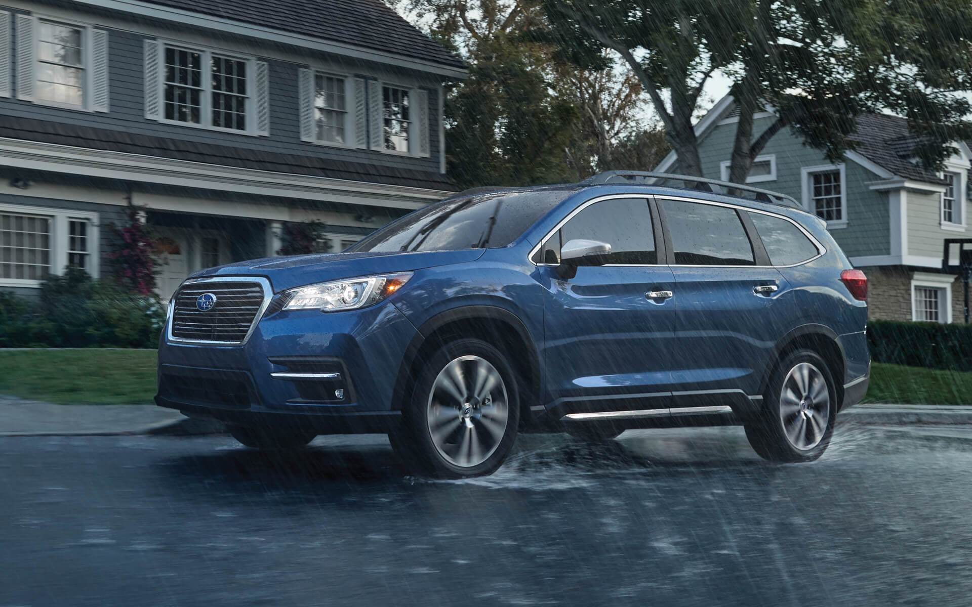 2020 Subaru Ascent Front Exterior Blue Picture