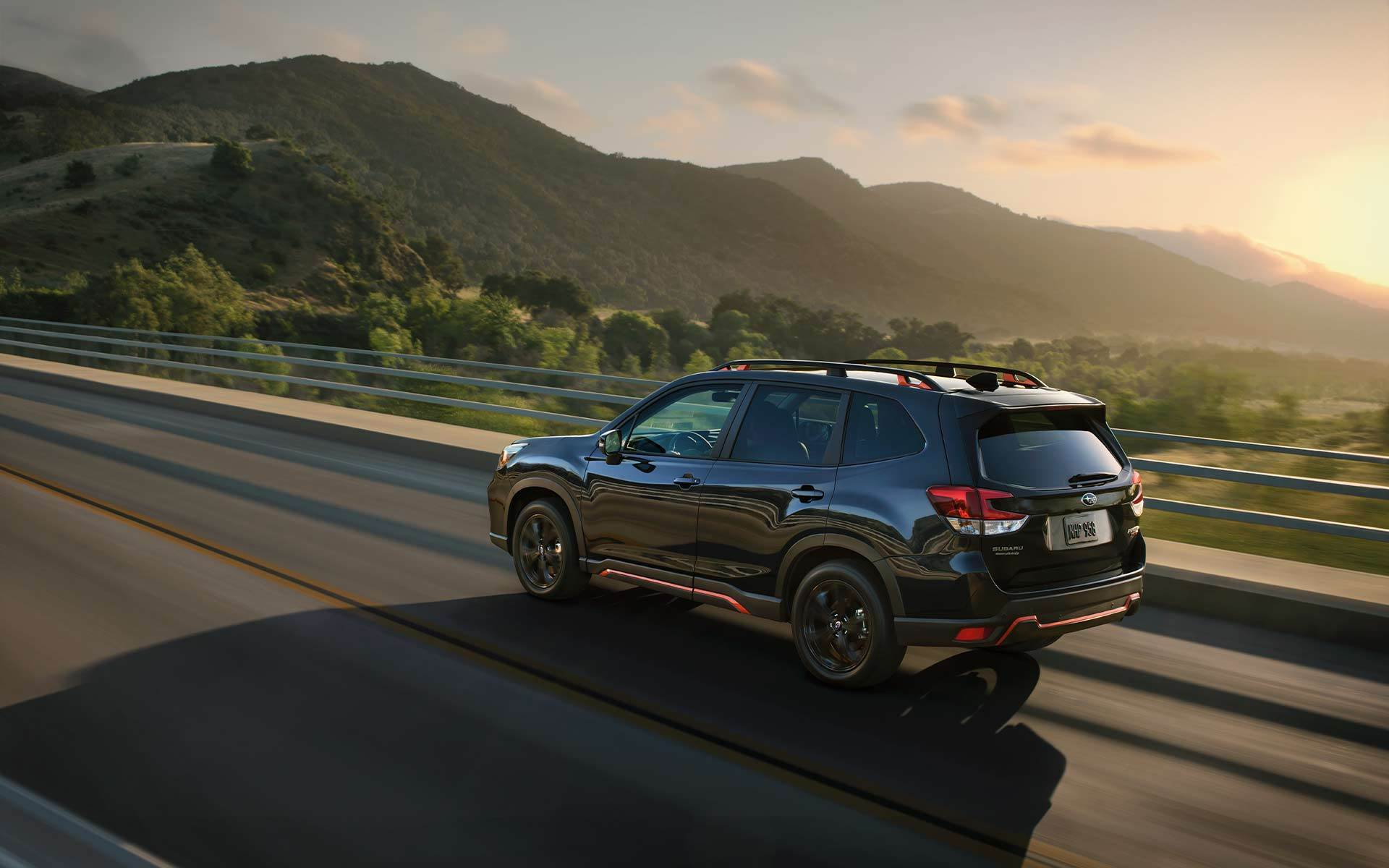 2020 Subaru Forester Rear Black Exterior Picture