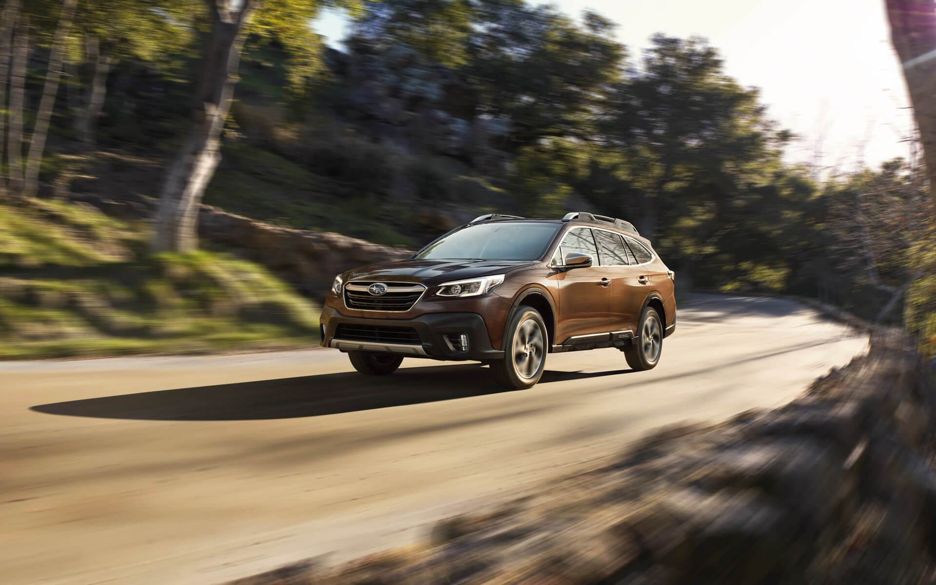 2020 Subaru Outback Front Brown Exterior Picture