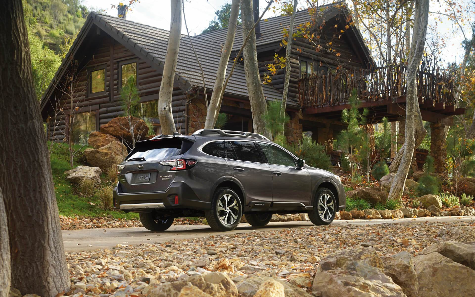 2020 Subaru Outback Rear Gray Exterior Picture