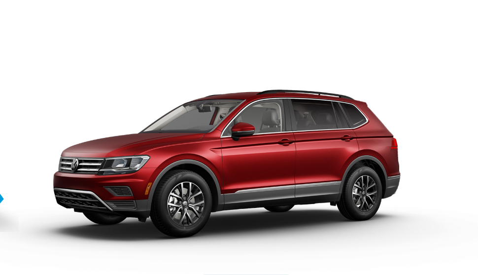 2020 Volkswagen Tiguan SE Front Red Exterior Picture.png
